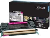 Lexmark X748 MAGENTA HIGH YIELD TONER CARTRIDGE (Lexmark Printer Supplies: X748H2MG)