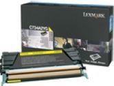 Lexmark C73X/X73X YELLOW TONER CARTRIDGE (Lexmark Printer Supplies: C734A2YG)
