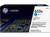 HP 653A Cyan Original LaserJet Toner Cartridge (HP Printer Supplies: CF321A)