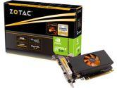 Zotac GeForce GT 730 LP 902MHZ 2GB GDDR5 64-Bit 5010MHZ DVI/HDMI/VGA PCI-E Video Card (Zotac: ZT-71101-10L)