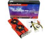 Visiontek Radeon R9 280X 850MHZ 3GB 6.0GHZ GDDR5 2xDVI HDMI DisplayPort PCI-E Video Card (VISIONTEK: 900652)