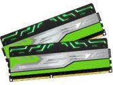 Avexir BLITZ1.1 G Series 8GB 2X4GB DDR3-1600 9-9-9-24 1.5V Green LED Dual Channel Memory (Avexir: AVD3U16000904G-2BZ1GBG1)