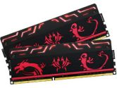 Avexir BLITZ1.1 Dragon Series 8GB 2X4GB DDR3-1866 11-11-11-31 1.5V Red LED Dual Channel Memory (Avexir: AVD3UH18661104G-2BZ1MGD)