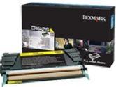 Lexmark C746 C748 YELLOW TONER CART (Lexmark Printer Supplies: C746A2YG)