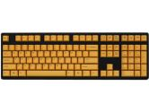 Ducky DK9008P Premier MX Brown Switch Dark Gray 104 Yellow Keycaps Mechanical Keyboard (Ducky: DK9008P-BUSPHYHB1)