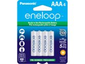 Panasonic Eneloop Rechargeable Battery AAA 4 Pack Ni-MH 800mAh Pre-Charged Made In Japan (Sanyo: BK4MCCA4BA)