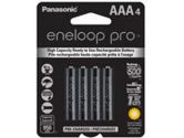 Panasonic Eneloop Pro High Capacity Rechargeable Battery AAA 4 Pack Ni-MH 950mAh Pre-Charged (Sanyo: BK4HCCA4BA)
