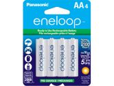 Panasonic Eneloop Rechargeable Battery AA 4 Pack Ni-MH 2000mAh Pre-Charged Made In Japan (Sanyo: BK3MCCA4BA)