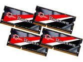 G.SKILL Ripjaws SO-DIMM 32GB/4X8GB DDR3L-1600 CL9-9-9-28 Dual Channel (G.Skill: F3-1600C9Q-32GRSL)