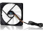 Fractal Design Silent Series R2 Blackout Edition 120mm Quiet Cooling Fan 1000RPM 66CFM 18.5DBA (Fractal Design: FD-FAN-SSR2-120-BK)