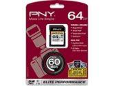 PNY Elite Performance 64GB Secure Digital Extended Capacity (SDXC) Flash Card (PNY Technologies, Inc.: P-SDX64U1H-GE)
