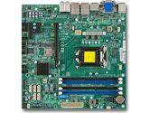 Supermicro X10SLQ Intel I3/I5/I7 LGA1150 Q87 DDR3 6SATA 3PCIE Mpcie mATX Motherboard OEM (SuperMicro: MBD-X10SLQ-B)