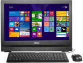 MSI AP200 20IN HD+ 2 Point Touchscreen i3 4160 4GB 500GB DVDRW 1MP Windows 7PRO AIO PC (MSI: AP200-094US)