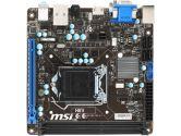 MSI H81I mITX H81 LGA1150 1PCI-E16 DVI HDMI SATA3 USB3.0 Motherboard (MSI: H81I)