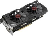 ASUS GeForce GTX 970 Strix OC 1253MHZ 4GB 7.0GHZ GDDR5 2xDVI HDMI DisplayPort PCI-E Video Card (ASUS: STRIX-GTX970-DC2OC-4GD5)