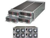 Supermicro Fattwin F628R3-FT 4U Xeon E5 2XLGA2011 DDR4 ECC 4SATA PCIe 2GBE 4 Nodes 1280W 1+1 Server (SuperMicro: SYS-F628R3-FT)