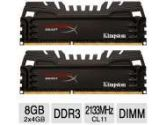 Kingston 8GB 2133MHZ DDR3 Non-ECC CL11 DIMM  XMP Beast Series (Kingston: HX321C11T3K2/8)