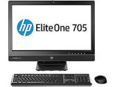 HP Eliteone 705G1 AMD A8 PRO-7600B 3.1GHZ 4GB 500GB 13in IPS HD LED DVDRW WIN7/8.1 Pro All In One PC (HP SMB Systems: J6D71UT#ABA)