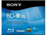 Sony BNR50R2H - BD-R Dual Layer Recordable Blu-Ray Disc (Sony Accessories: BNR50R2H)