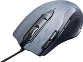 Tesoro Shrike 5600DPI Laser Sensor Gaming Mouse - Silver (Tesoro: TESORO-H2L(S))