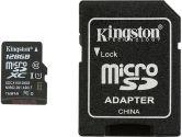 Kingston 128GB Microsdxc Class 10 Flash Card (Kingston: SDCX10/128GB)