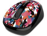 Microsoft Wireless Mobile Mouse 3500 Limited Edition MAC/WIN USB Port � Geo PRISM (Microsoft: GMF-00404)