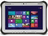 Panasonic Cto Toughpad FZG1 10.1in Touch I5-4310U 8GB 128GB SSD Serial WIN8.1PRO Handstrap Tablet (Panasonic Toughbook: FZG1FS3NXBM)