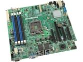 Intel Xeon E3-1200 LGA1150 DDR3 SATA mATX Server Motherboard (Intel Server Products: DBS1200V3RPL)