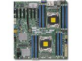 Supermicro X10DRH-C 2XLGA2011 C612 DDR4 10SATA 8SAS 7PCIE 2GBE IPMI EATX Motherboard (SuperMicro: MBD-X10DRH-C-O)
