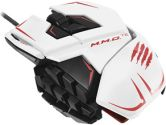 MadCatz Cyborg R.A.T. M.M.O. TE Tournament Edition 8200DPI Laser Gaming Mouse PC & MAC - White (Madcatz: MCB437140001/04/1)