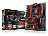 Gigabyte X99SOC Champion ATX X99 LGA2011 DDR4 SATA3 4XPCIE16 3XPCIE SLI Xfire GBLAN USB3 Motherboard (Gigabyte: GA-X99-SOC Champion)