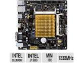 ASUS J1800I-C Mini ITX Motherboard Integrated Intel Celeron J1800 SoC HDMI DVI USB 3.0 Up to 8GB RAM (ASUS: J1800I-C)