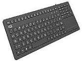 ADESSO AKB-270UB Antimicrobial Waterproof Touchpad Keyboard AKB-270UB Black Keyboard (Adesso: AKB-270UB)