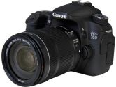 Canon EOS 70D (8469B016) Black Digital SLR Camera with 18-135mm STM f/3.5-5.6 Lens (Canon USA: 013803221633)