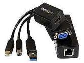 Microsoft Surface Pro 3 VGA HDMI / GbE Adapter Kit (Microsoft: MSTP3MDPUGBK)