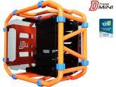 IN WIN D-FRAME MINI ORANGE Orange Computer Case (In Win: D-FRAME MINI ORANGE)