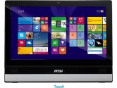 MSI ADORA22 21.5in FHD Touchscreen i3 4000M 4GB 1TB DVDRW Windows 8.1 All In One PC White (MSI: ADORA22 2M-062US)
