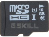 G.SKILL 16GB microSDHC Flash Card Model FF-TSDG16GN-C10 (G.SKILL: FF-TSDG16GN-C10)