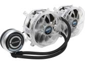 Zalman RESERATOR3 Max Dual Ultimate Liquid CPU Cooler Blue LED LGA1156 1155 1366 775 AM3 754 939 940 (ZALMAN TECH: Reserator 3 MAX Dual)