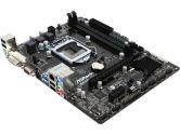 ASRock B85M-DGS mATX INTEL� B851 X PCIe 3.0 x16 1 X PCIe 2.0 X1; DDR3 4XSATA;4XUSB3.0 Motherboard (ASRock: B85M-DGS)