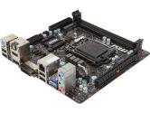 MSI B85I mITX H81 LGA1150 1PCI-E16 SATA3 USB3.0 HDMI DVI VGA Motherboard (MSI: B85I)