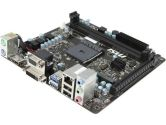 MSI AM1I mITX AM1 Kabini DDR3 1PCI-E16 SATA3 HDMI DVI VGA USB3.0 GBLAN Motherboard (MSI: AM1I)