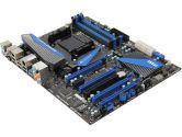 MSI 990FXA-GD80 V2 ATX AM3+ 990FX DDR3 4PCI-E16 2PCI-E1 1PCI SATA3 USB3.0 GBLAN Motherboard (MSI: 990FXA-GD80 V2)