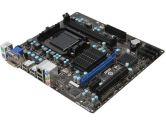 MSI 760GM-P34  mATX AM3+ 760G DDR3 1PCI-E16 1PCI-E1 Radeon 3000 SATA2 DVI VGA USB2.0 Motherboard (MSI: 760GM-P34 (FX))
