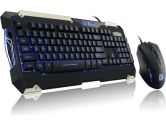 TT eSports by Thermaltake Commander � Gaming Gear Combo With Enhancements Keyboard and Mouse (Tt eSports by Thermaltake: KB-CMC-PLBLUS-01)