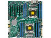 Supermicro X10DAC Intel Xeon 2xLGA2011 C612 DDR4 10SATA 8SAS LSI3008 6PCIE 2GBE EATX Motherboard (SuperMicro: MBD-X10DAC-O)