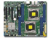 Supermicro X10DAL-i Intel Xeon 2xLGA2011 C612 DDR4 10SATA 5PCIE 2GBE ATX Motherboard (SuperMicro: MBD-X10DAL-i-O)