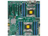 Supermicro X10DAX Intel Xeon 2xLGA2011 C612 DDR4 10SATA 6PCIE 2GBE SLI Thunderbolt EATX Motherboard (SuperMicro: MBD-X10DAX-O)