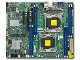 Supermicro X10DRL-C Xeon 2xLGA2011 C612 DDR4 6SATA 8SAS LSI3008 3PCIE 2GBE IPMI ATX Motherboard (SuperMicro: MBD-X10DRL-C-O)