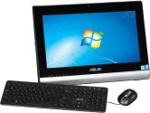 ASUS All-in-One Desktop I3-3220T 4GB RAM 500GB HDD 19.5in 16X9 Win7Pro 64Bit W/WIN8 Pro VESA 100X100 (ASUS: ET2020IUKI-01)